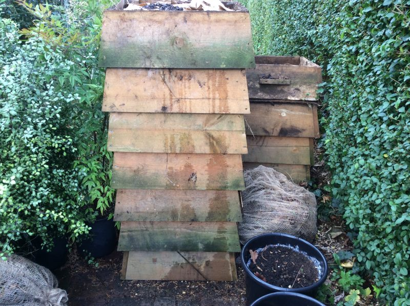 Compost in a London Cottage Garden