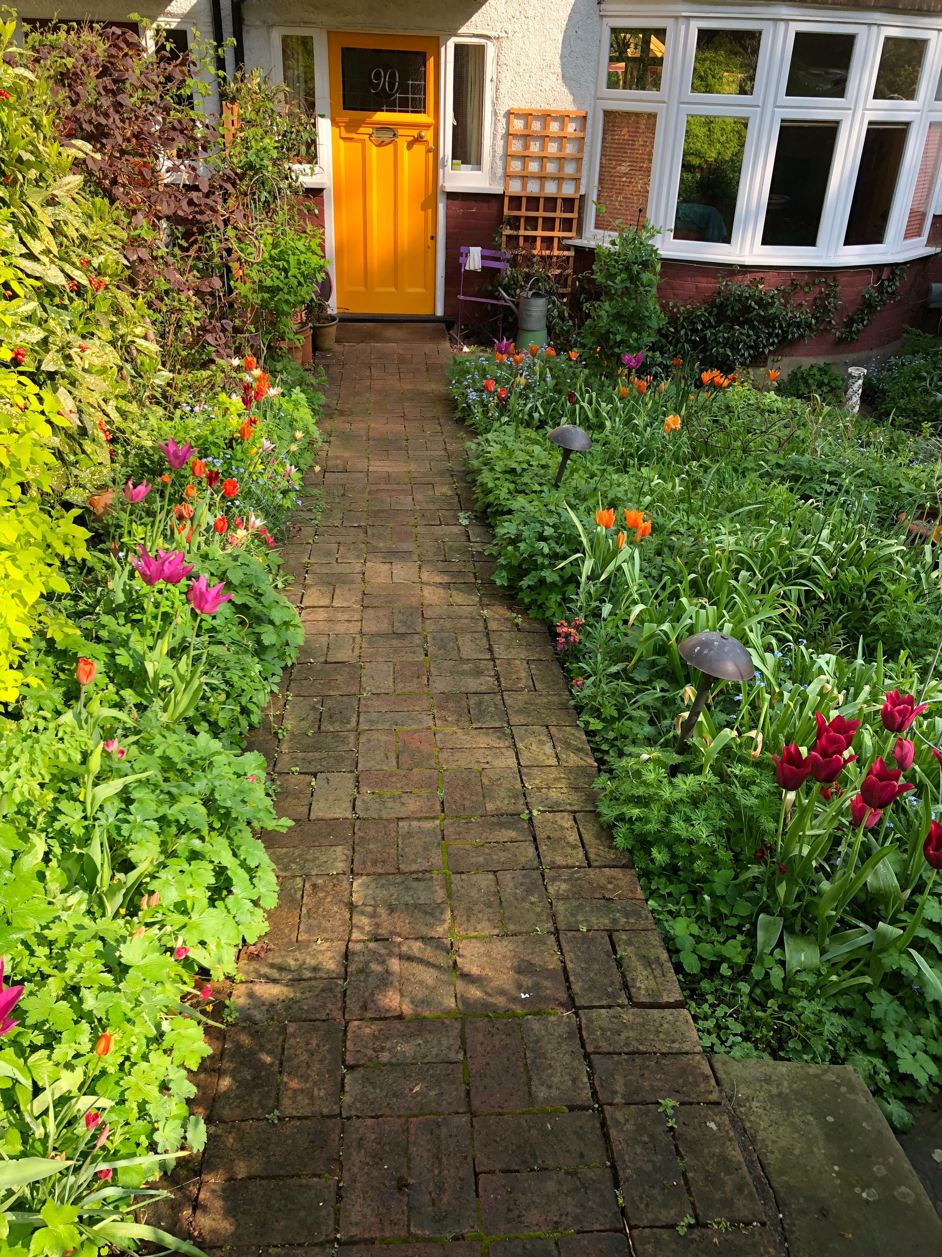 cottage garden path