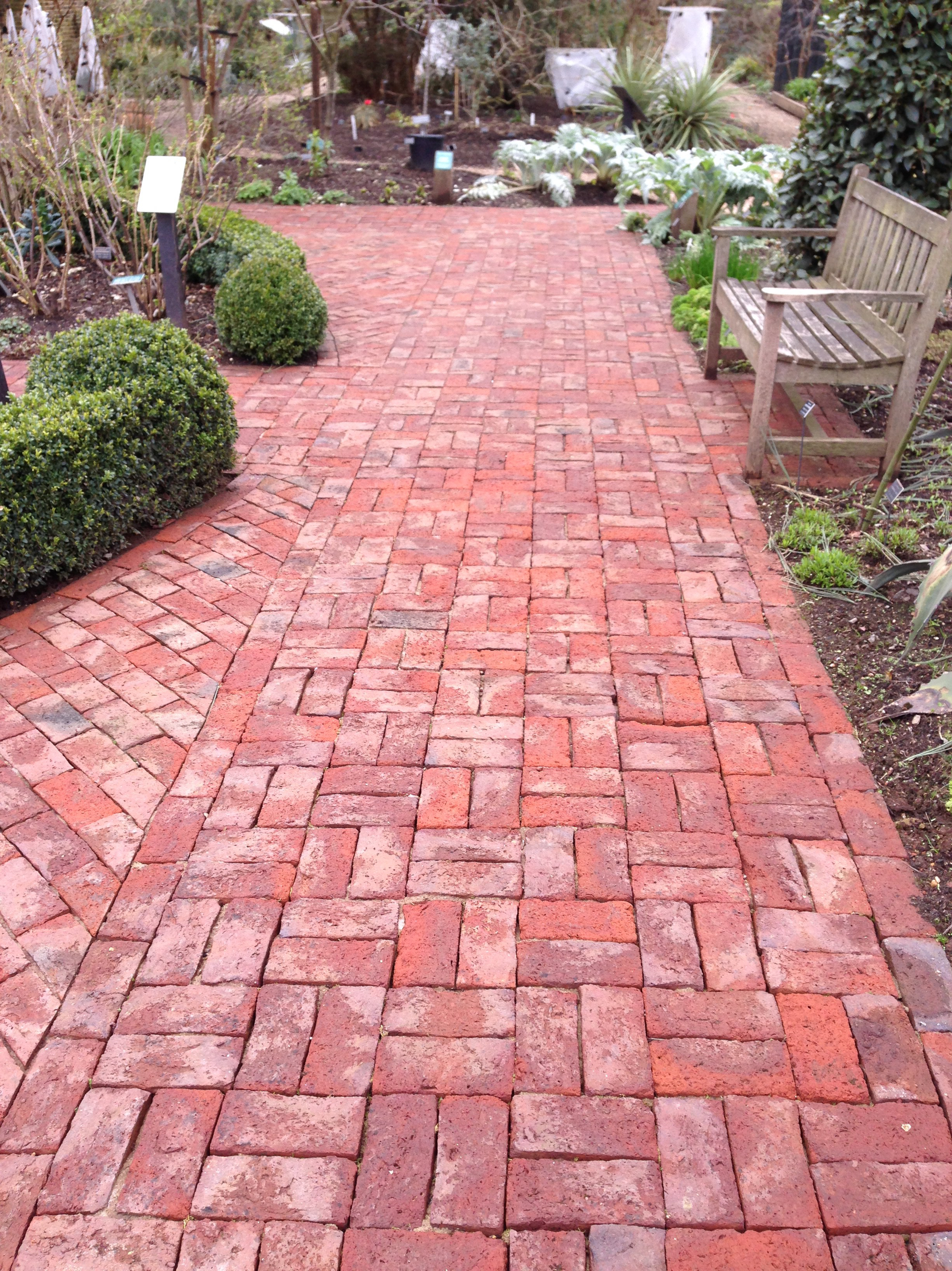 brick paving Chelsea Physic Garden