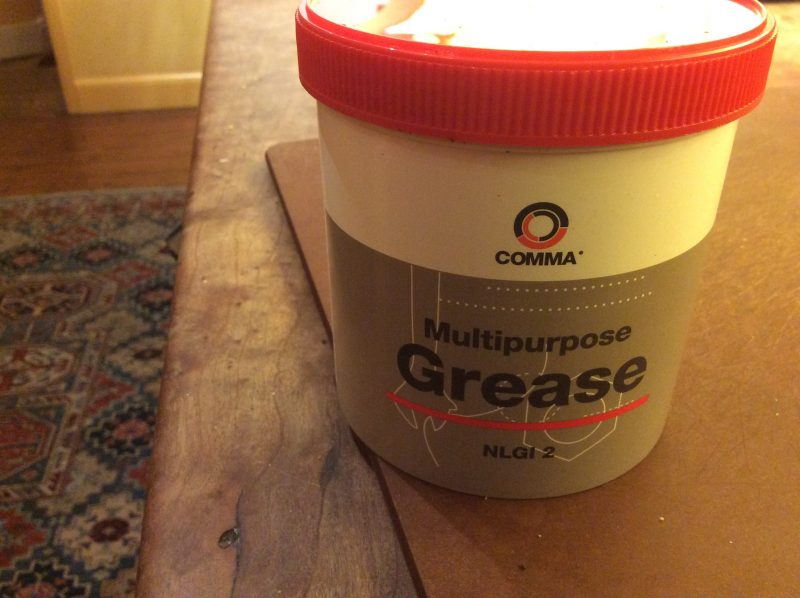 Grease for the pole