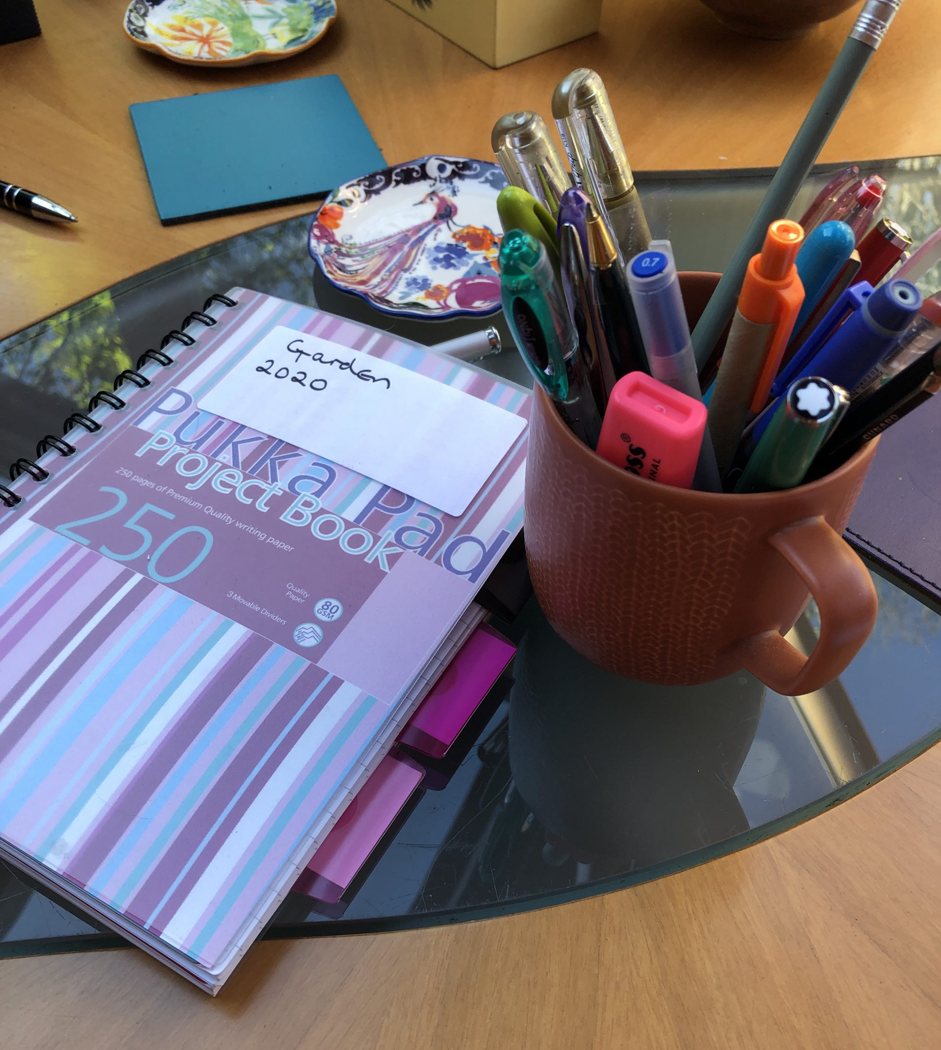 keep a garden diary